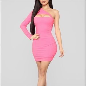 *New fashionova pink dress